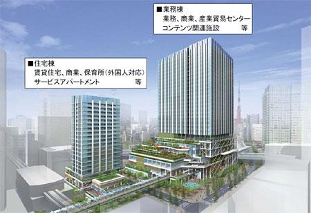 都市再生ステップアップ・プロジェクト(竹芝地区)