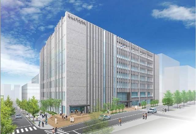 日本大学歯学部新校舎 イメージ図 (出典:日本大学)