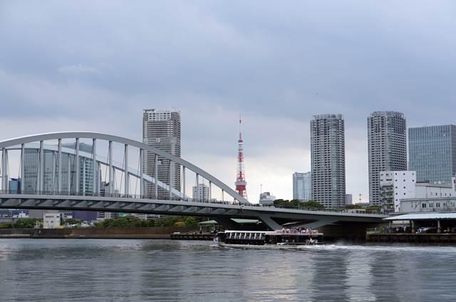 築地大橋 2015.6.6