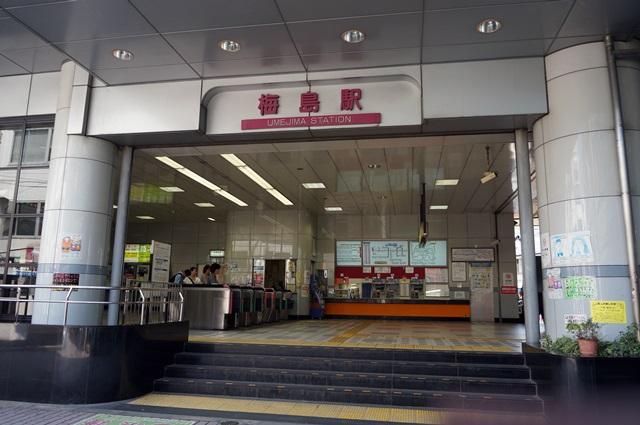 梅島駅 2015.7.12
