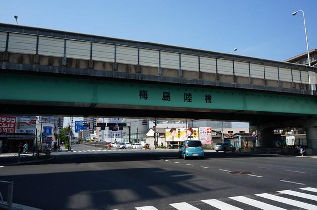 梅島陸橋 2015.7.12