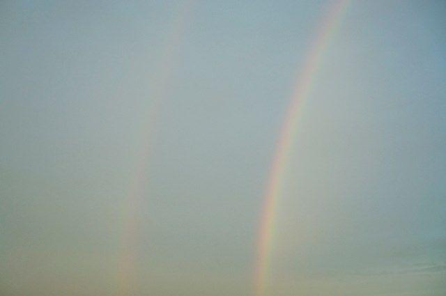 二重の虹 2015.7.18