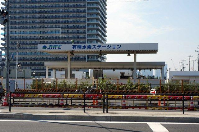 有明水素ステーション 2015.7.20
