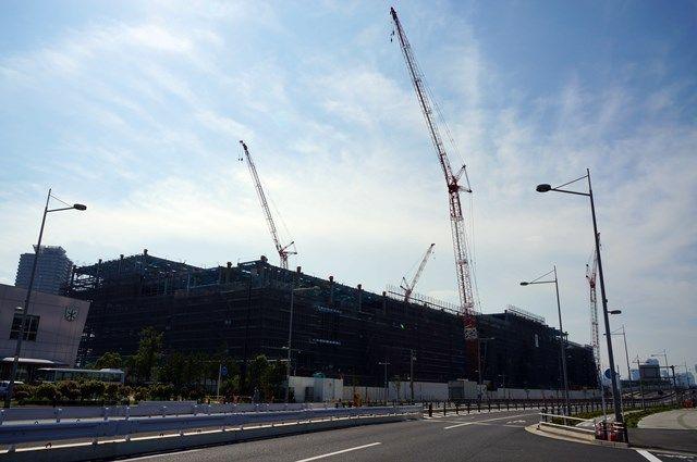 「(仮称)Dプロジェクト有明I新築工事」 2015.7.20