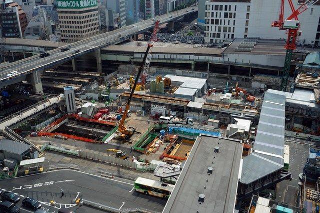 「渋谷駅街区開発計画I期(東棟)」 2015.7.25