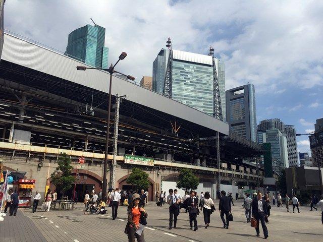 新橋駅 2015.6.29