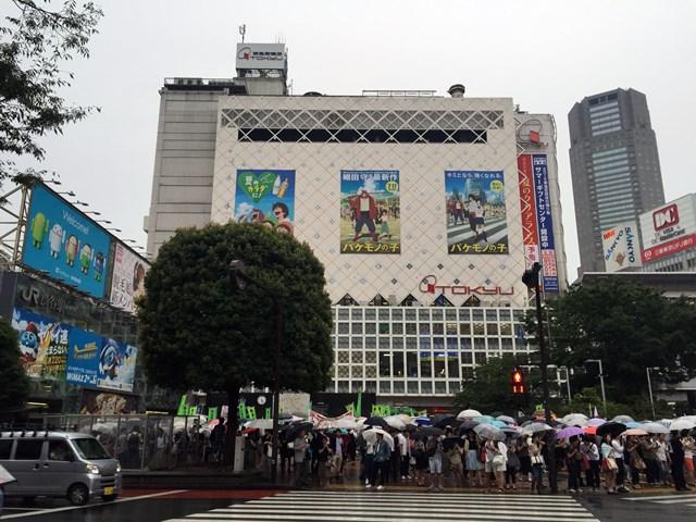 渋谷駅 2015.7.4