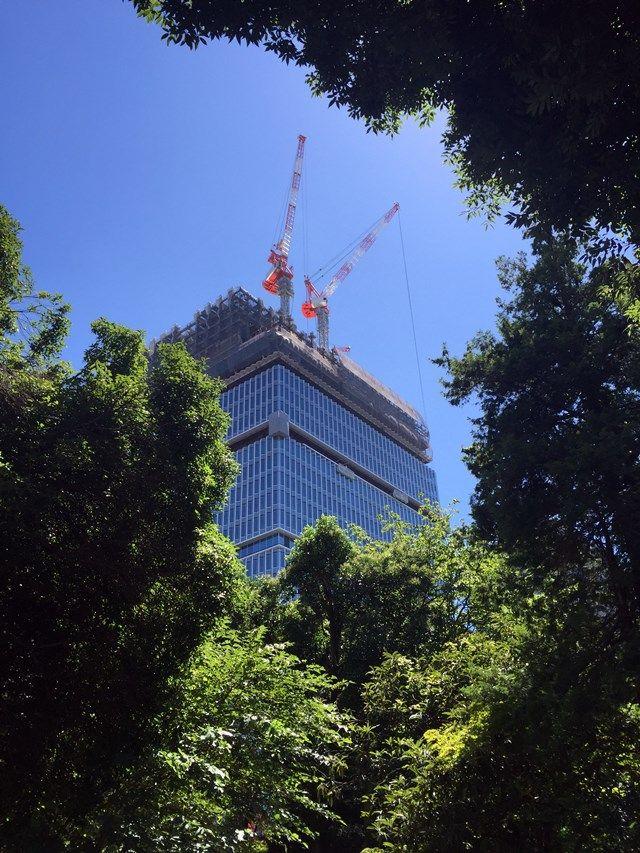 「東京ガーデンテラス」 2015.7.22