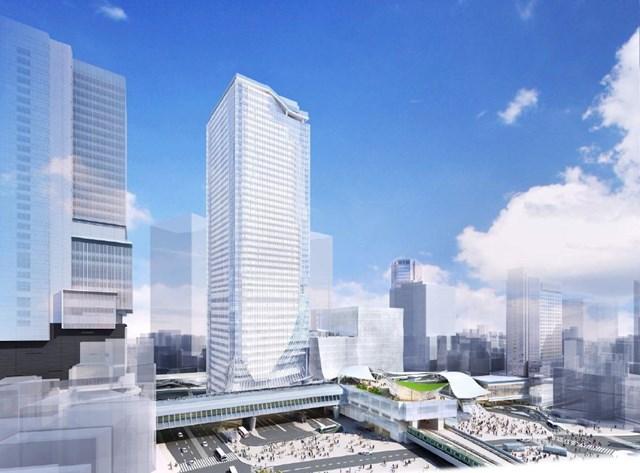 「渋谷駅街区開発計画東棟」 イメージ図