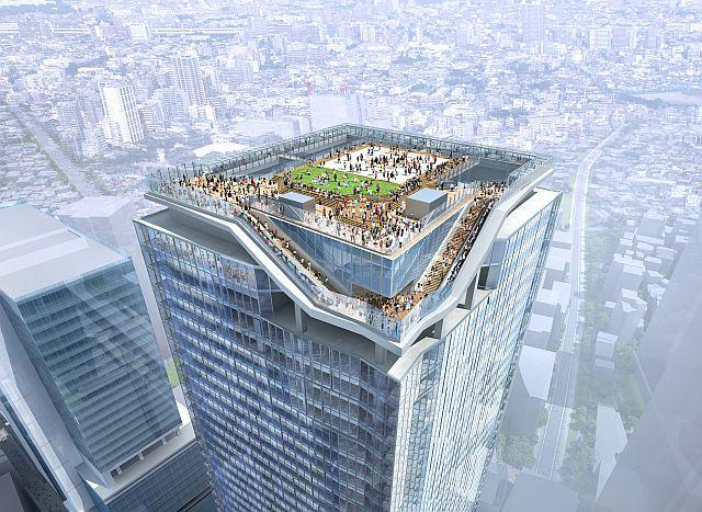 「渋谷駅街区開発計画東棟」 イメージ図 (出典:マイナビニュース)
