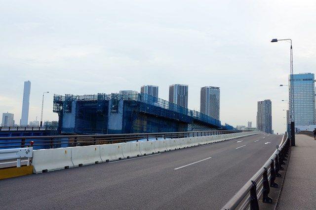 首都高速10号晴海線 2015.7.20