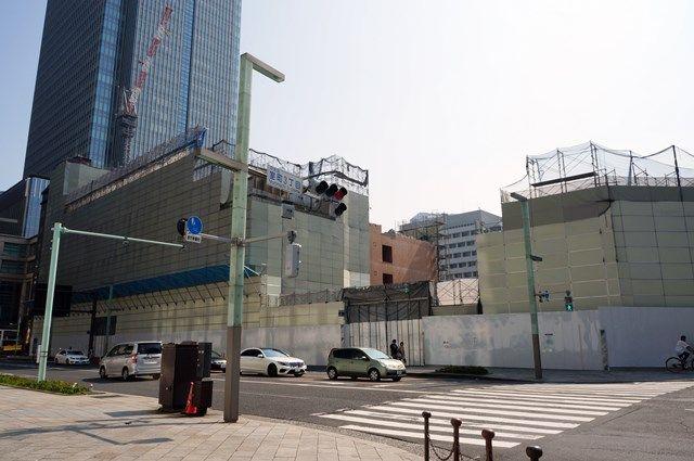 「日本橋室町三丁目地区第一種市街地再開発事業A地区新築工事」 2015年8月上旬