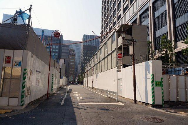 「日本橋二丁目地区第一種市街地再開発事業」 2015年8月上旬
