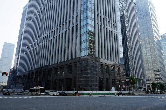 「(仮称)新鉄鋼ビル」 2015年8月上旬