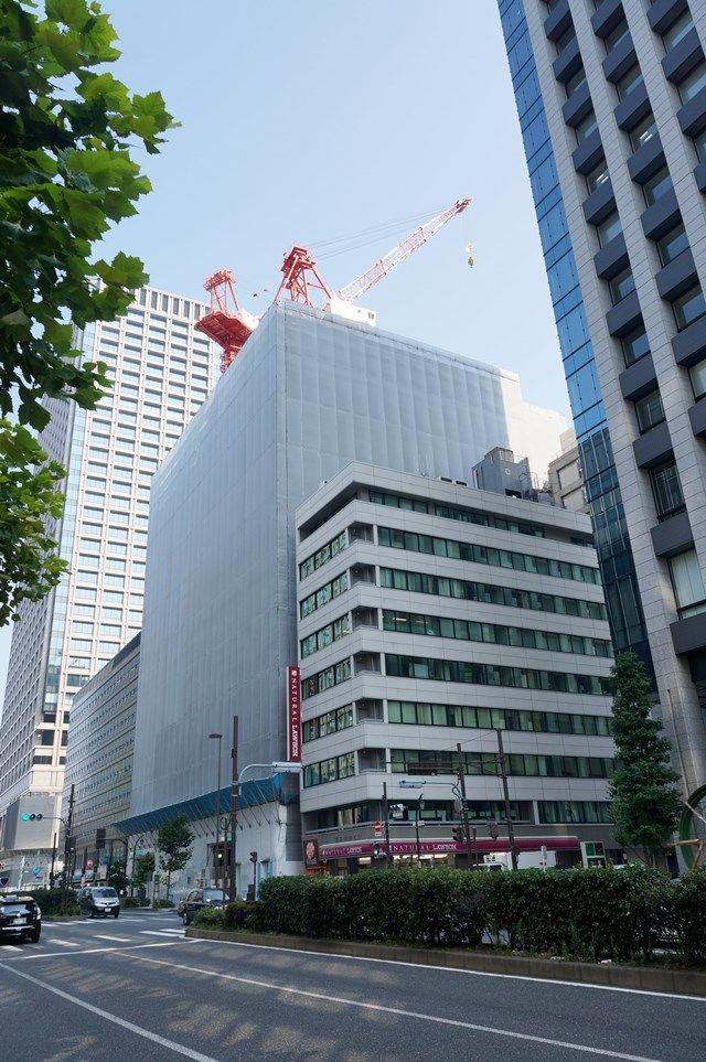 「アーバンネット日本橋二丁目ビル」 2015年8月上旬