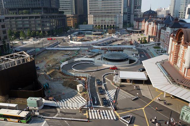 東京駅 2015年8月上旬