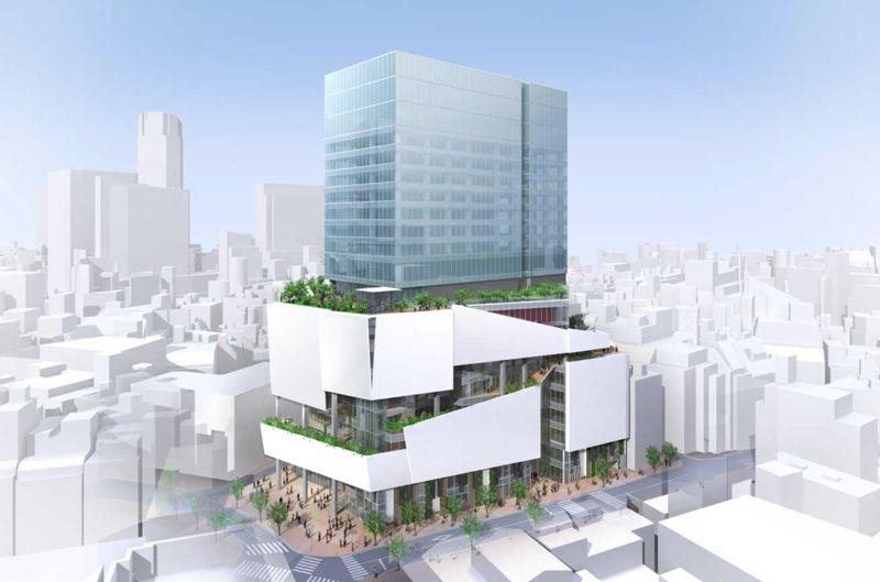 「渋谷パルコ」 イメージ図 (出典:ケンプラッツ)