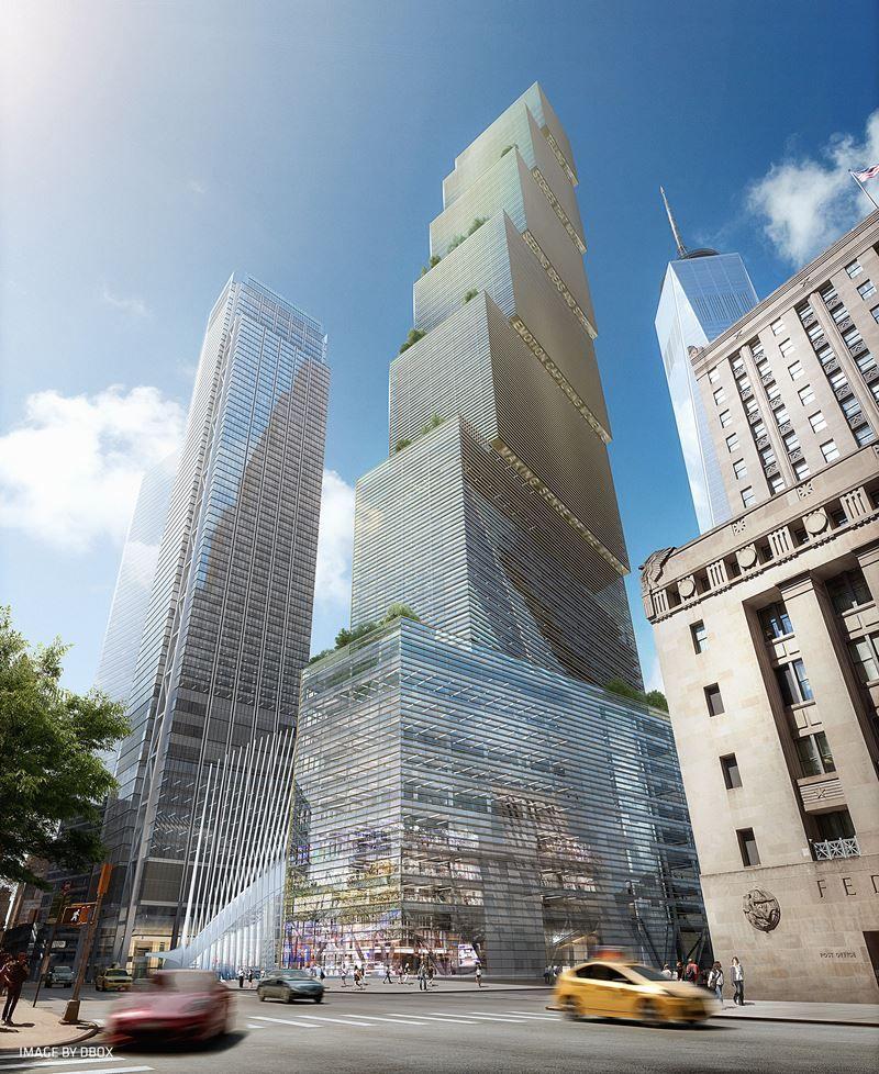 2 World Trade Center (出典 Silverstein Properties)