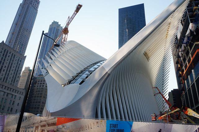 World Trade Center Transportation Hub 2015 Summer