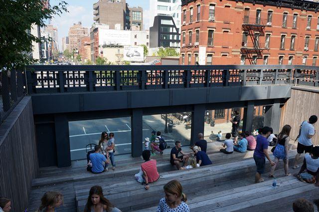 Chelsea High Line 2015 Summer