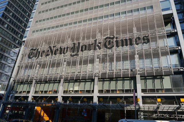 The New York Times Building 2015 Summer