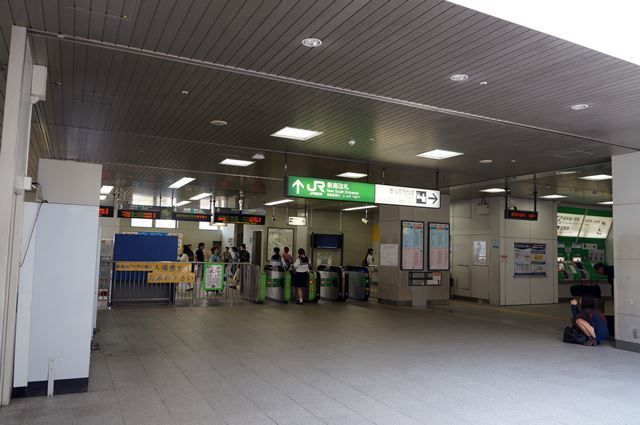 渋谷駅新南口 2015.9.12