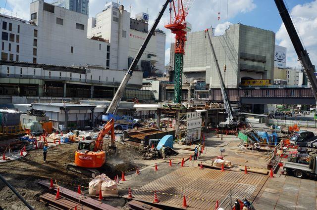 「渋谷駅街区開発計画I期(東棟)」 2015.9.12