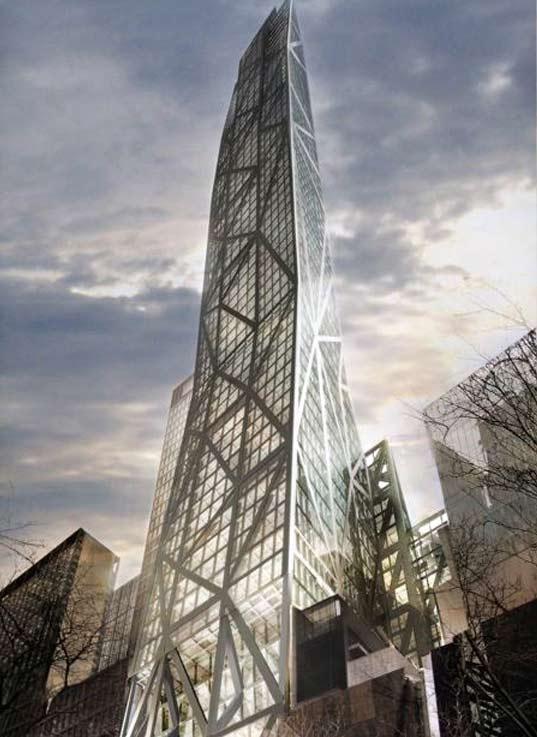 MoMA Tower イメージ図 (出典:inhabitat.com)