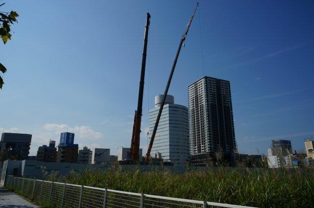 「横浜歯科技術専門学校 MM55街区計画」 2015年9月下旬