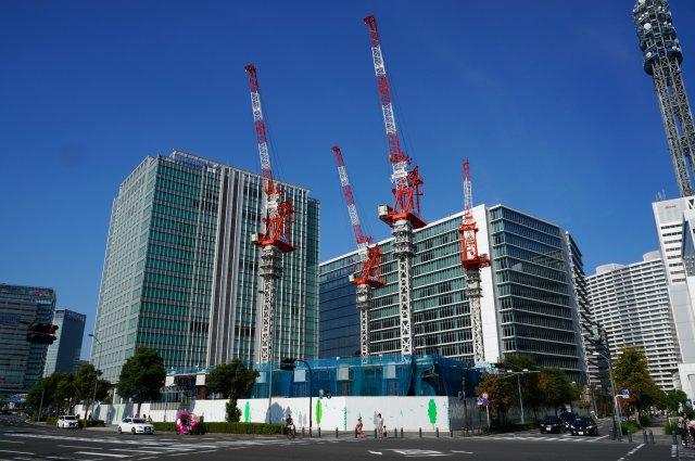 「(仮称)横浜野村ビル計画」 2015年9月下旬