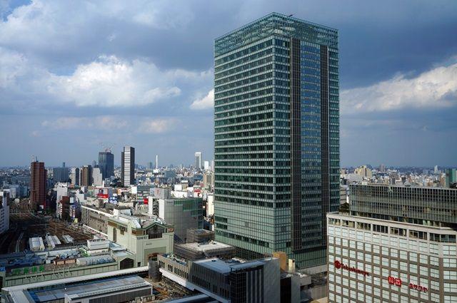 「JR新宿ミライナタワー」 2015.10.4