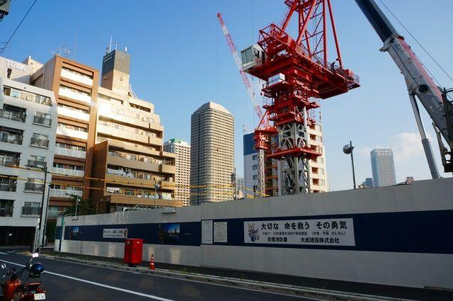 「パークシティ中央湊 ザ タワー」 2015.10.24