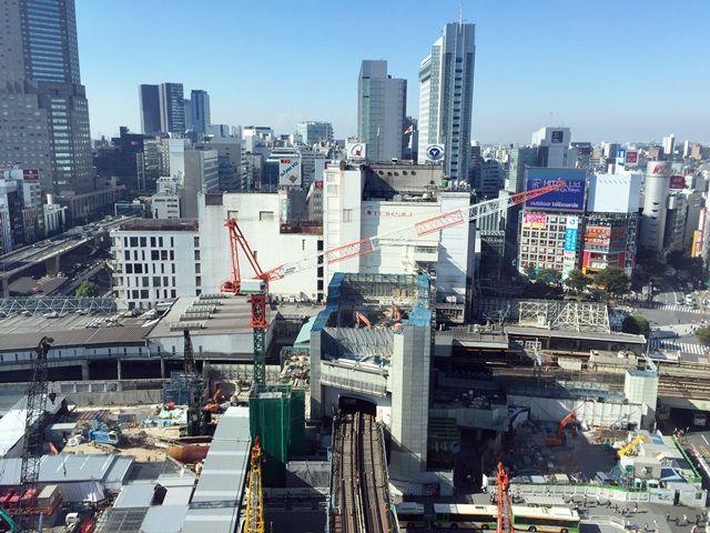「渋谷駅街区開発計画I期(東棟)」 2015.10.28
