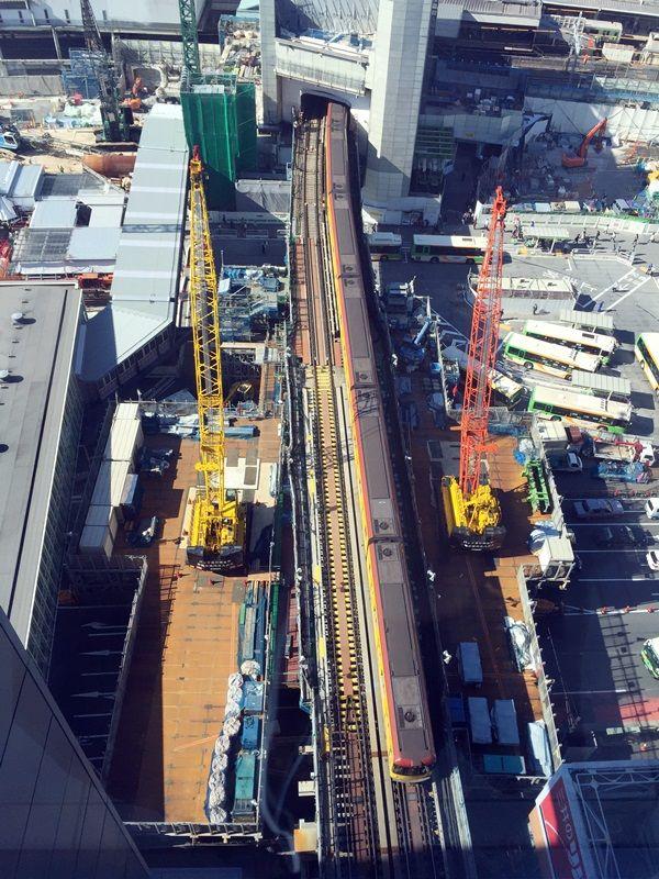銀座線渋谷駅 2015.10.28