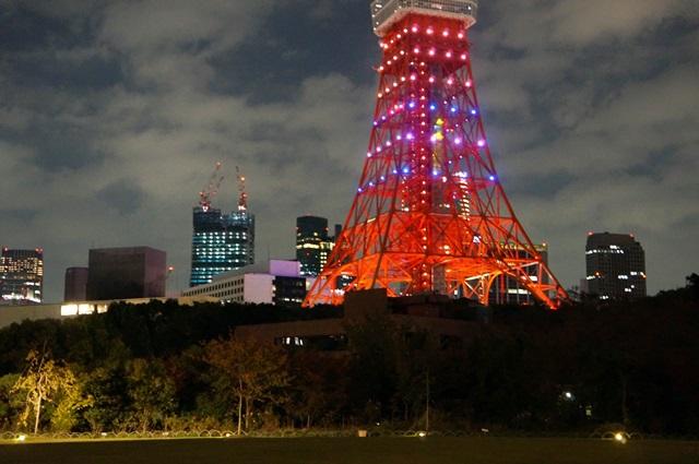 東京タワー ハロウィン仕様 2015.10.31