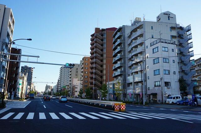 産業道路(放射第17号線) 2015.11.3