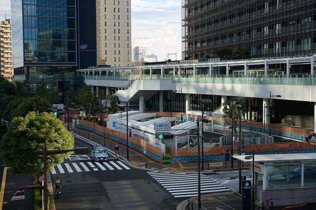大崎駅西口バスターミナル 2015.11.15
