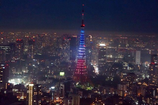 東京タワー Tokyo Tower Tricolore color 2015.11.15