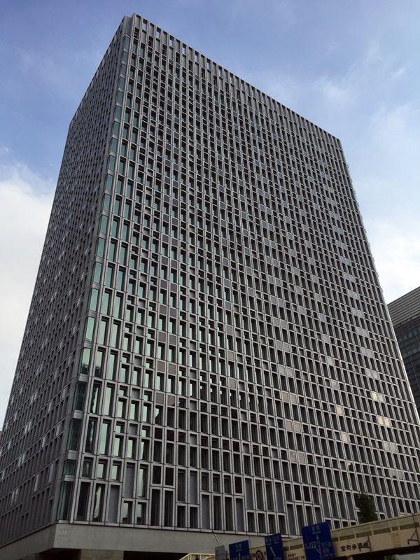 清水建設本社ビル 2015.10.31