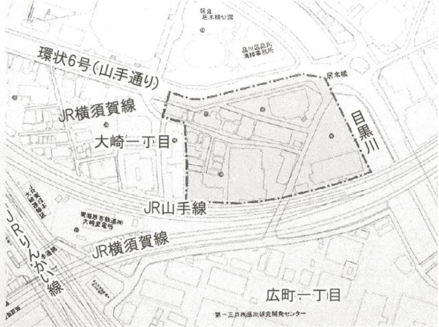 大崎駅東口第4地区再開発事業 (出典:建設通信新聞)
