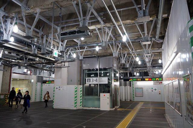JR新宿駅新南口 2015.11.28