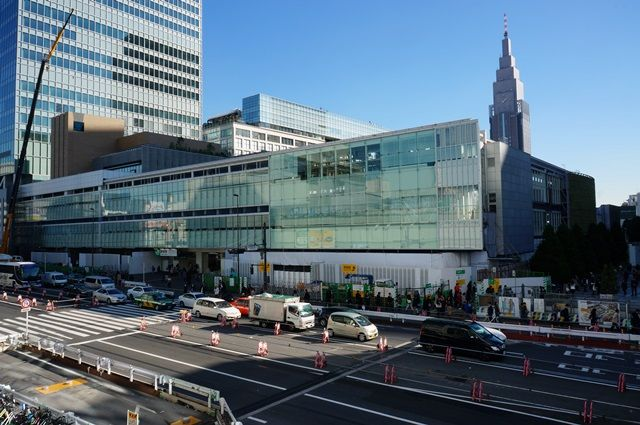 「新宿駅南口地区基盤整備事業」 2015.11.28