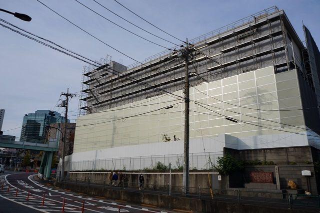 リニア中央新幹線 「北品川変電施設」 2015年11月下旬
