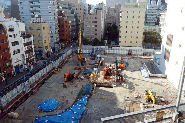 「浜松町駅西口開発計画 A街区」 2015.12.26