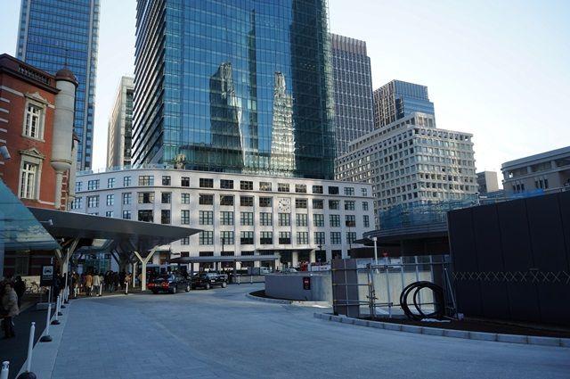 東京駅丸の内駅前広場整備 2015年12月下旬