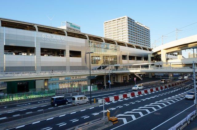 「京急蒲田駅東口駅前広場」 2015.12.29
