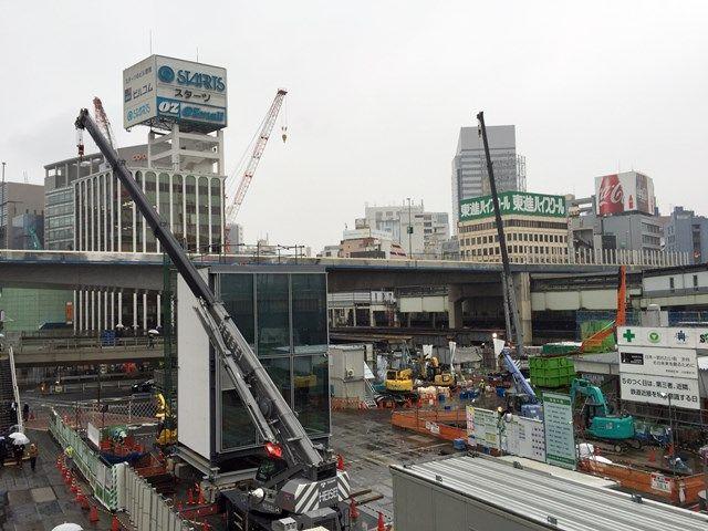 「渋谷駅街区開発計画I期(東棟)」 2015.12.13