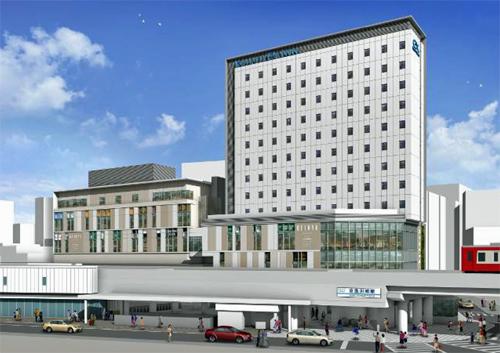 京急川崎駅ビル イメージ図 (出典:京急電鉄)