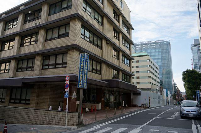 「旧駿河台日本大学病院」 2016.1.3
