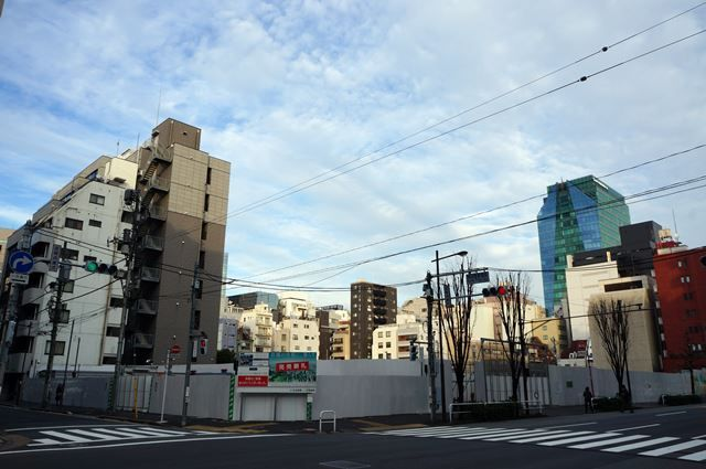 「東京電機大学東京神田キャンパス跡地と神田警察署跡地」 2016.1.3